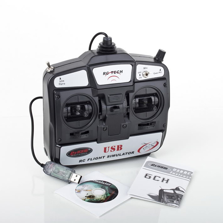 Throughout six / 6 channel simulator introduction 3 d remote USB rc helicopter flight - JINYU store