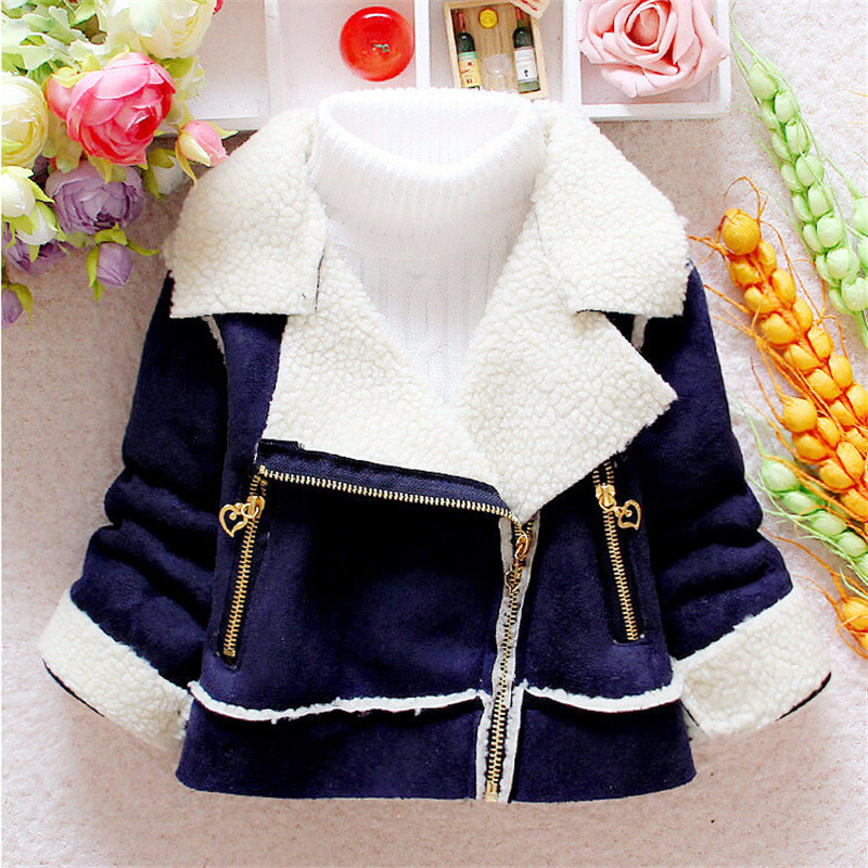 2015 New Baby Boys Jacket Winter Clothes Kids Outerwear Coat Thicking Clothes Faux Fur Children Warm Outerwear(China (Mainland))