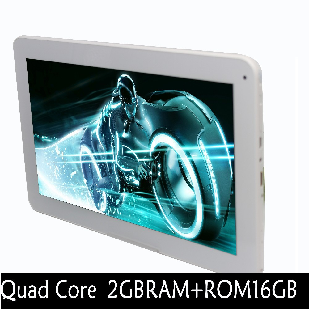 10 Inch 3G ExternalQuad Bluetooth FM 2 SIM Card Phone Call Smart Tab Pad core Android4