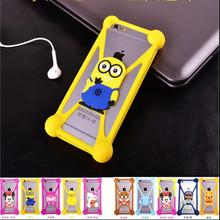 Fashion 3D Cartoon Anti knock TPU Rubber Cell Phone Case ZTE Blade X3 X7 D6 S6 G Lux X9 L4 L5 Silicone Cover Capa - Marco Polo shenzhen trading co., LTD store