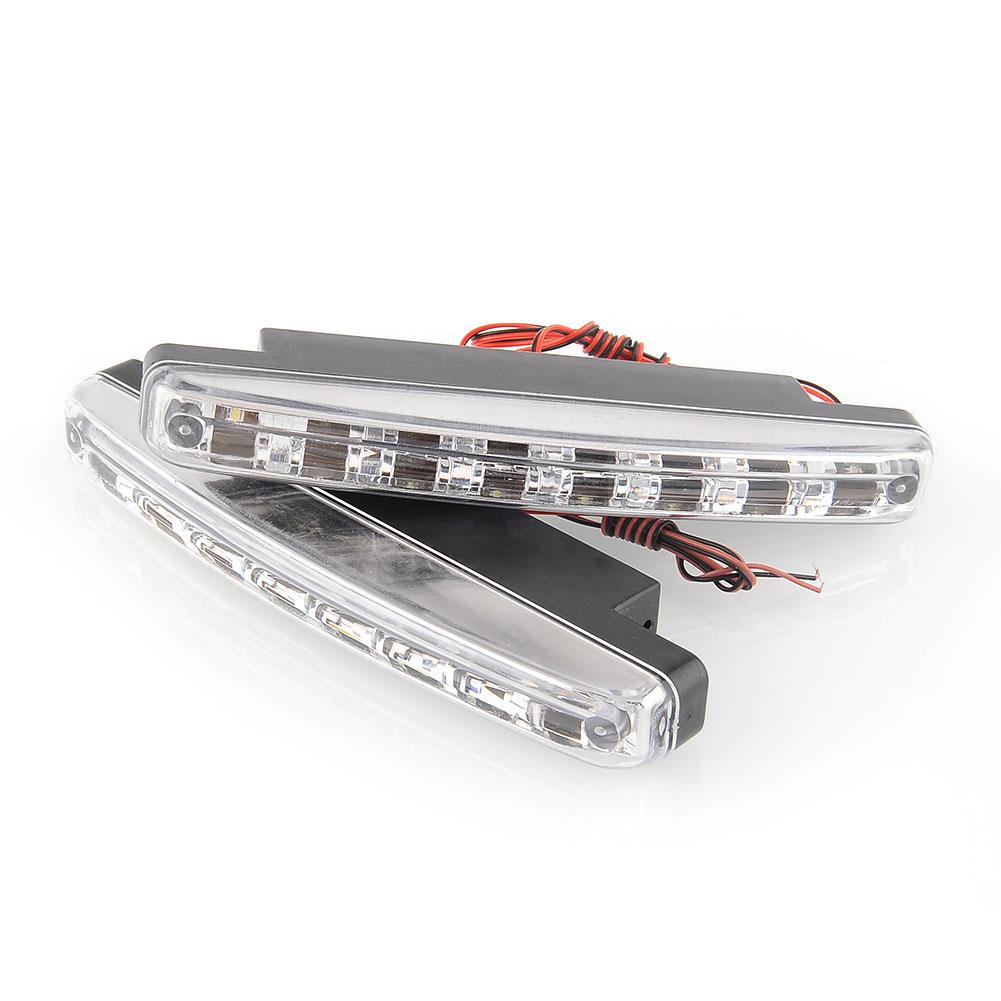 Система освещения BRAND NEW 2 x 8 DC 12V система освещения osram 12v 3700 k 9006nbp 51w hb4