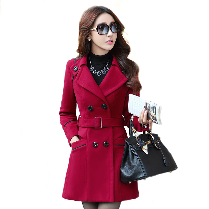 Popular Red Double Breasted Jacket-Buy Cheap Red Double Breasted