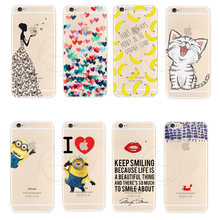 2015 New Arrival Hot PC Hard Transparent Phone Skin Back Case Cover For Apple iPhone 6 iPhone6 1Piece Free shipping