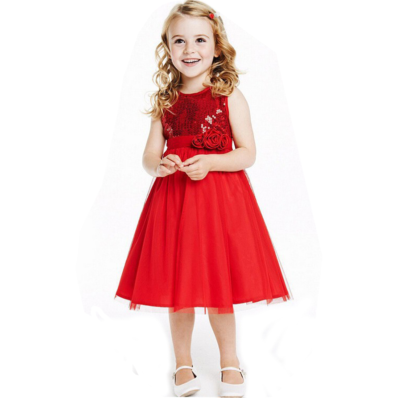 Girls Red Dress | argutk