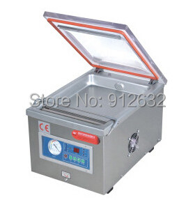 304 stainless steel Small Desk-top vacuum packaging machine, food plastic bag vacuum packing machine, vacuum sealer china(Hong Kong)