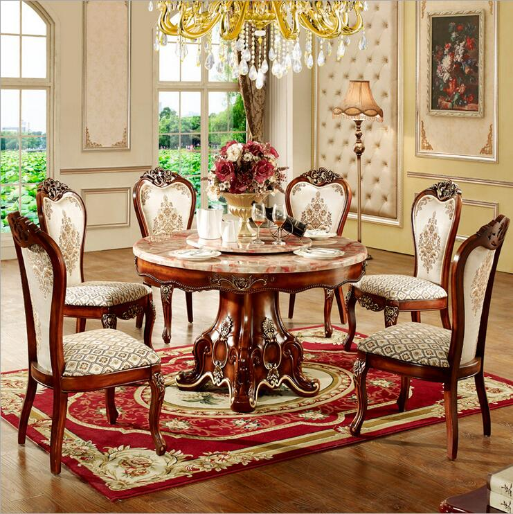 italy style luxury dining table set o1087 in dining room sets from