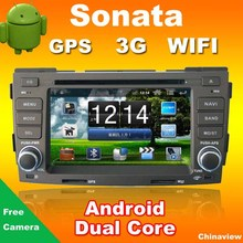Dual core 1.6GHZ Android Car Radio for Hyundai Sonata 2009 with RADIO DVD GPS +WIFI+3G+Bluetooth+Parking camera(China (Mainland))