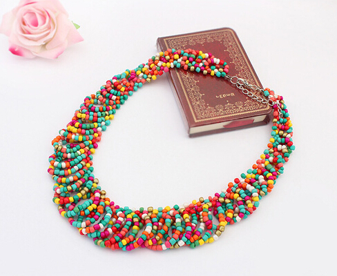 statement necklace women fashion vintage collar necklaces & pendants - Jewelry Home's store