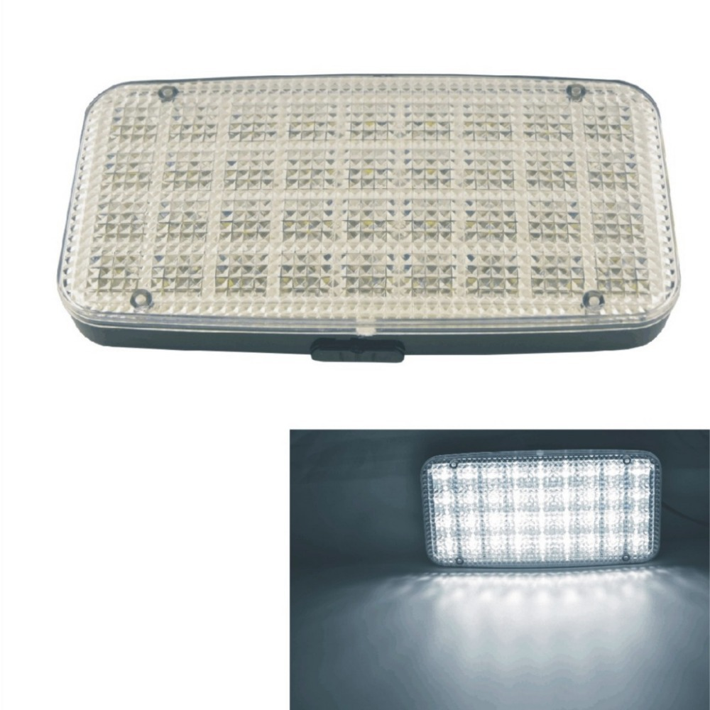 36 led car vehicle dome roof ceiling interior light lamp white in dome lights from automobiles. Black Bedroom Furniture Sets. Home Design Ideas