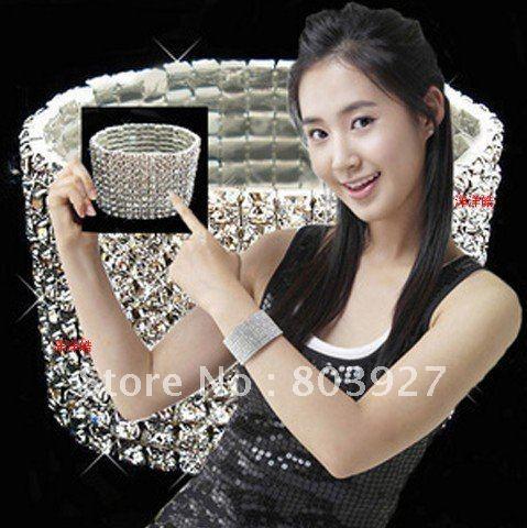 10 row bracelet bride bridal dress accessories bride bracelet
