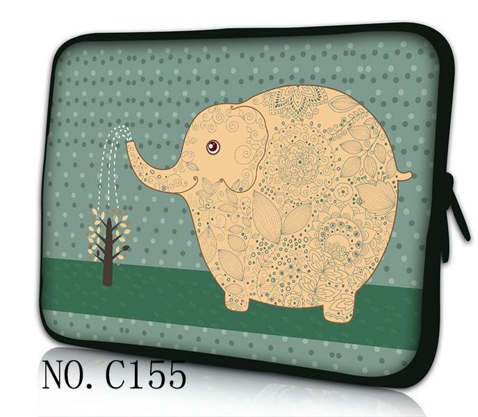 Elephant 7 9.7 12 13 15 17 Tablet Sleeve Notebook Case Mini PC Laptop Bag 11.6 13.3 15.4 15.6 Computer Handbag Soft Cover(China (Mainland))