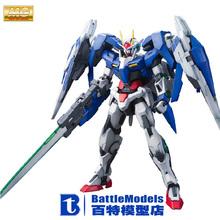 Genuine BANDAI MODEL 1/100 SCALE Gundam models #169914 MG 00 Raiser plastic model kit