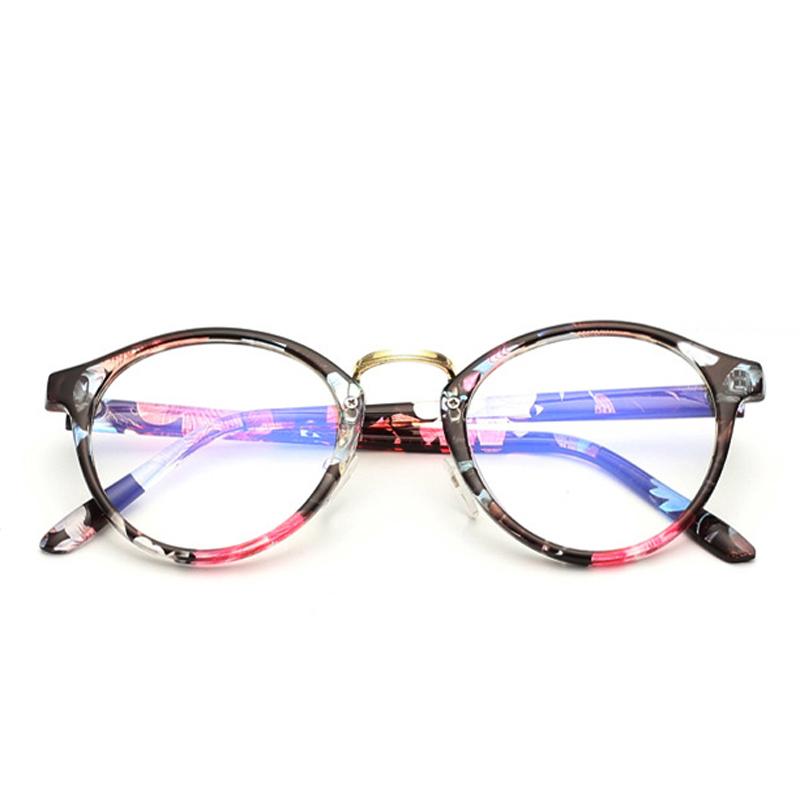 Buy 2016 Fashion Reading Glasses Frame Women Men Brand Designer Mirror Lens