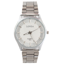 Limited apresuraron ginebra Reloj de cuarzo Hombre Reloj correa de acero inoxidable cristal de primeras marcas analógico para Hombre relojes Reloj Hombre