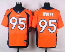 100% Stitiched,Denver Broncos,Derek Wolfe for mens(China (Mainland))
