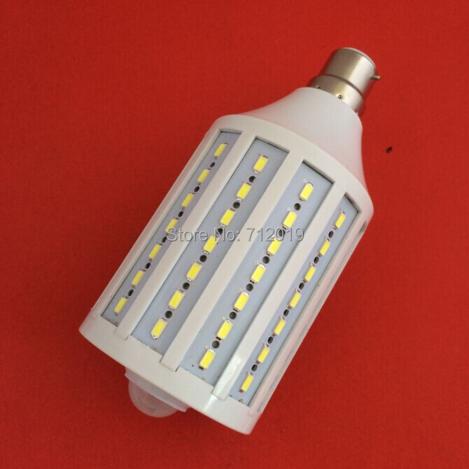 B22/E27/E14 25W 98 LED SMD 5730 Corn Bulb Auto PIR Infrared Motion Sensor Detector Light - Shenzhen Sunshine Trade Co., Ltd. store