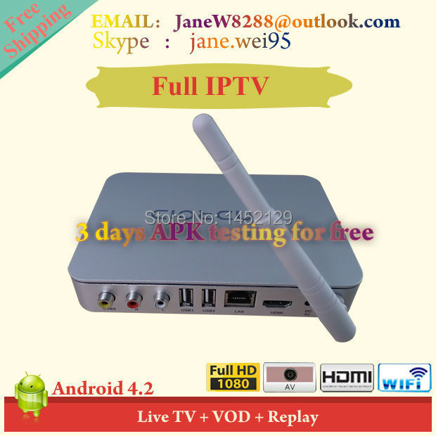 IPTV HD Android APK Japan//China /HK/TW/US/ Live TV Channels 1yr viewing Subscription(China (Mainland))