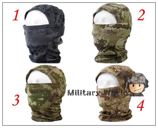 Гаджет  Tactical Military Balaclava Face Mask Quick-drying Hood Bike Cycling Headgear Caps Protection Tatico Mascara Kryptek Camo# None Спорт и развлечения