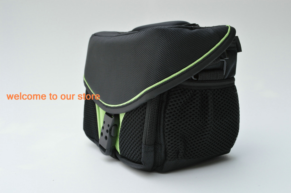 2015! 2013 New Waterproof soft camera bag Canon EOS 550D 650D 500D 50D SX30 SX40 sx50 7000D 60D M GREEN COLOR - Camera accessories shop store