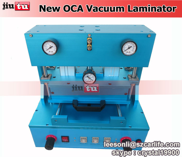Электрооборудование Jiutu iphone 4s 5s 6 6 + , samsung 2015 Automatic OCA Vacuum Laminator refurbishment machine 5 in 1 upgrade ko mag oca vacuum laminating machine vacuum laminator no need air compressor no need vacuum pump no bubble