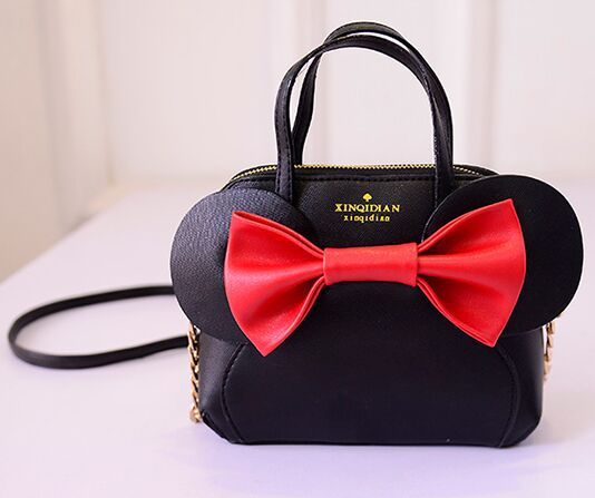Bow ears handbag exclusive design new fashion shoulder diagonal bags cute girls love high quality brand
