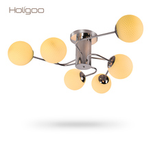Luxury Chandelier Light Living Room Fixtures Glass Decoration 110-240V Hanging Lamp Chandeliers Home Lighting Indoor Lights(China (Mainland))