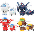 7cm Super Wings Mini Airplane Robot baby toys Action Figures Super Wing Transformation Animation for Gift