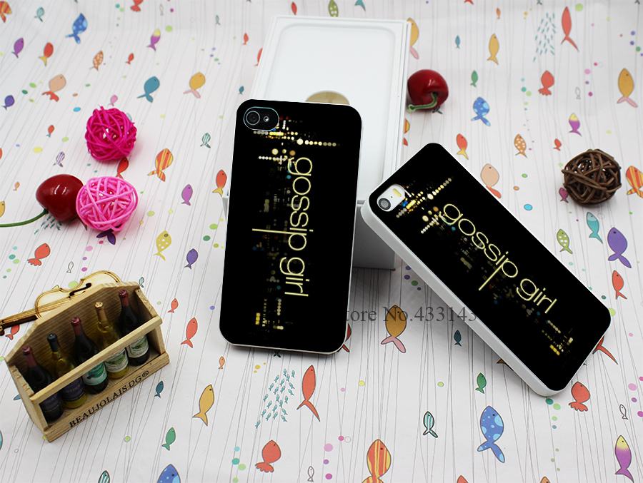 Hard White Case Cover for iPhone 4 4s Gossip Girl Style(China (Mainland))