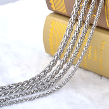 3 0mm width 316L stainless steel chain necklace men long punk statement swag chain necklace vintage
