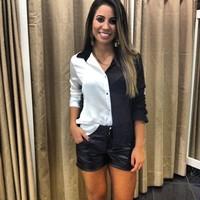 Женские блузки и Рубашки Moda CS4614