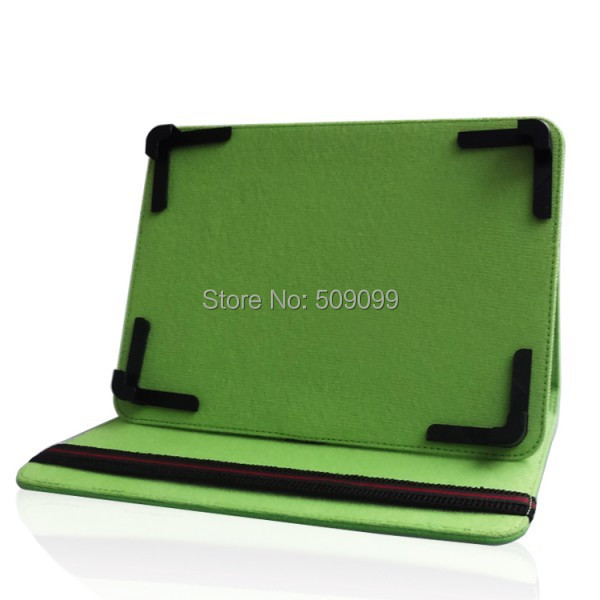 Green 8 inch PU Leather Case Flip Cover Universal Adjustable 8 inch Case Cover With stand for 8 inch Tablet MID PDA 300pcs/lot(China (Mainland))