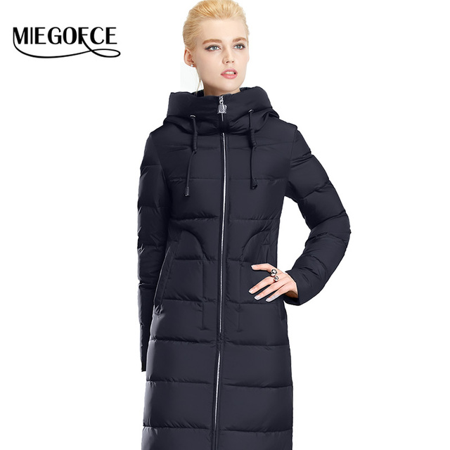 Winter Women Down Coat Jacket Warm Woman Down Parka Winter Coat High Quality European Style MIEGOFCE 2016 New Winter Collection
