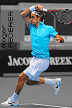 "Buy Roger Federer Tennis star Fabric poster 36"" x 24"" 20""x33""--053 for $4.63 in AliExpress store"