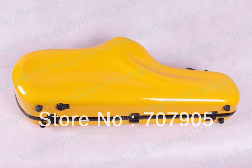 1x High quality Alto saxophone Water Proof Glass fiber case Dropshipping Wholesale Yellow<br><br>Aliexpress