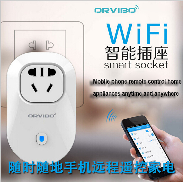Smart plug WiFi socket Remote control EU/AU/UK/US power supply electrical Wireless Switch Android/iPhone App - B&Y Digital Technology Co.,Ltd store