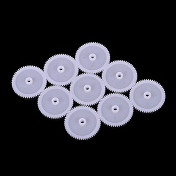 30pcs Single gear big size plastic DIY car ship model accessories(China (Mainland))