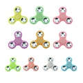 Luminous Glow In Dark EDC Hand Spinner For Autism and ADHD Anxiety Stress Relief Fidget Child