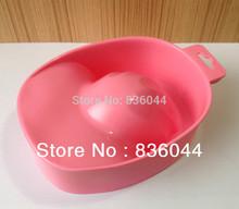 Free Shipping Bowl Basin Hand Finger Tips Soak Soaker Remove Polish Washing Thicken Trays Supplies Water Tools Nail Art Manicure(China (Mainland))