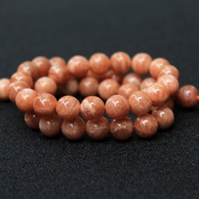 Buy Top Grade Wholesale Natural Sunstone Semi-precious Stone Beads Jewelry Making DIY Bracelet Necklace 8/10 mm Strand 15' for $5.19 in AliExpress store