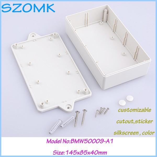 2 pcs/lot free shipping  electronics enclosure white  small plastic box box electronics 145x85x40 mm<br><br>Aliexpress