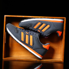 men shoes new brand men suede leather balance men casual leather shoes luxury brand shoes men(China (Mainland))