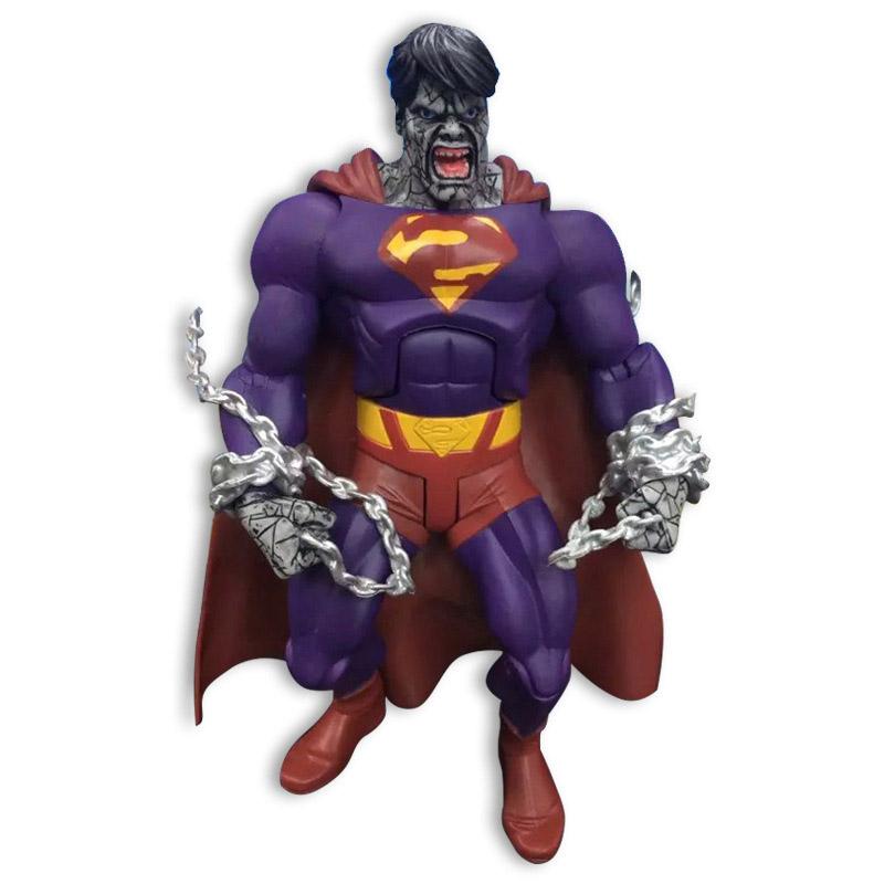 Evil Superman 18cm 1pcs PVC Action Figure DC Comics Justice League Action Anime Figures Models Kids Gifts Toys 1174<br><br>Aliexpress