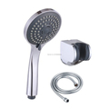 Chrome Water Saving Multi Function Bathroom Hand Held Shower Head Hose