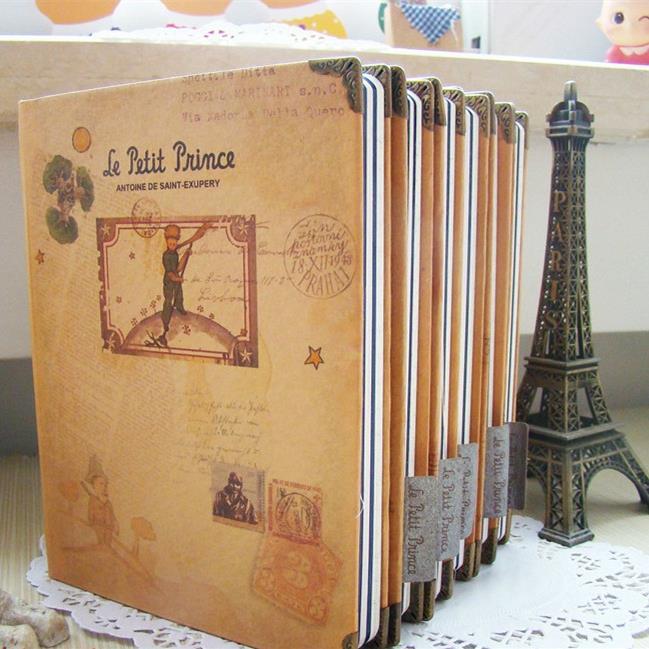 "Гаджет  ""Little Prince"" Hard Cover Any Year Diary Cute DIY Planner Pocket Journal School Study Notebook Korean Agenda Notepad Memo Gift None Офисные и Школьные принадлежности"