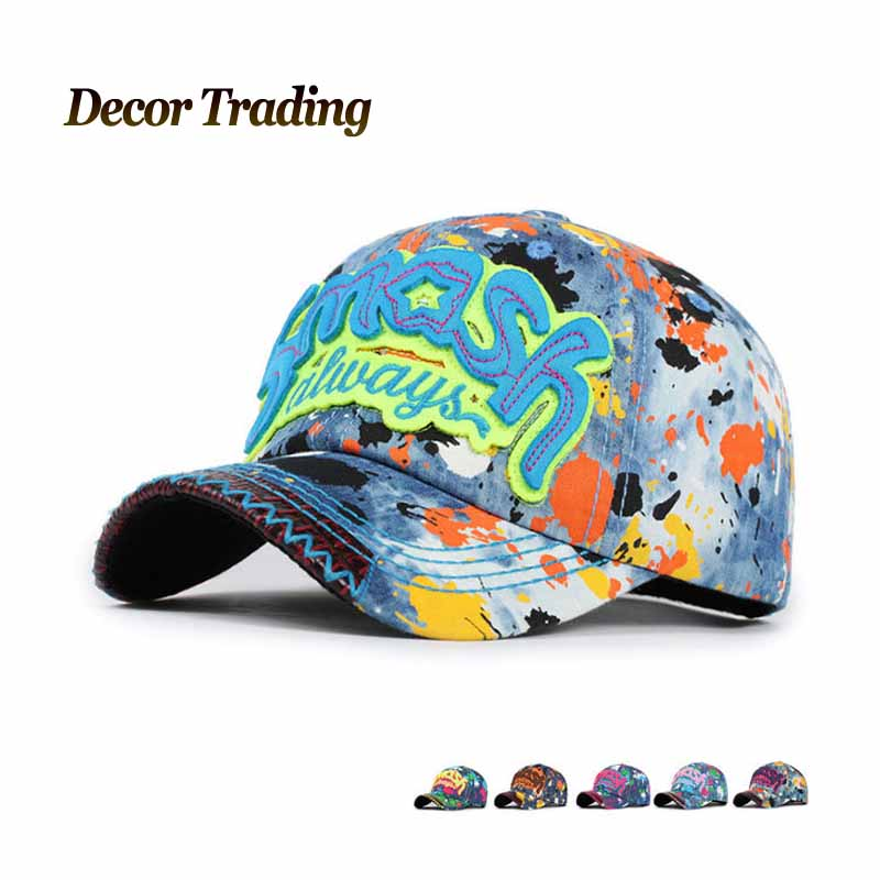 New 2016 spring summer colorful jenas denim baseball cap man and woman snapback hat sunbonnet casual sports cap(China (Mainland))
