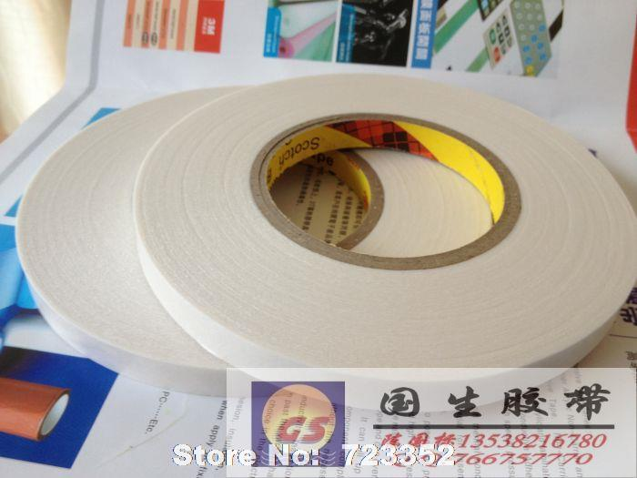 3M 9448a high-temperature double-sided tape waterproof white cotton paper double-sided tape 8 mm to 20 mm(China (Mainland))