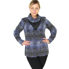 BFDADI 2016 новая водолазка женская с длинным рукавом свободного покроя широкие блузки зимная осенняя теплая тройник большой размер 5xl футболка 6221(China (Mainland))
