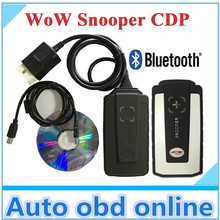 2016 New WoW SNOOPER tcs cdp pro with bluetooth V5.008 R2 software cars trucks diagnostic tool working better than tcs cdp(China (Mainland))