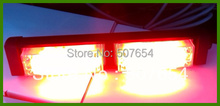 Free shipping! High quality 8PCS 1W Led headlight/led warning light/led strip light, 3kinds flashing patter,waterproof IP56