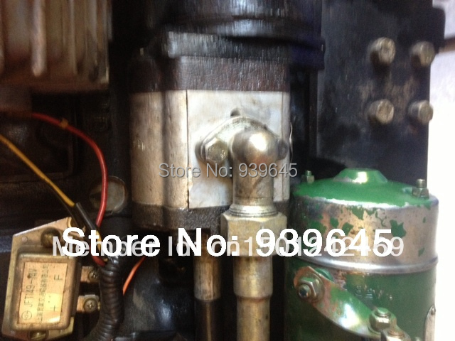 Agracat Tractor Parts : Free shipping hydraulic gear pump cbn l for jinma